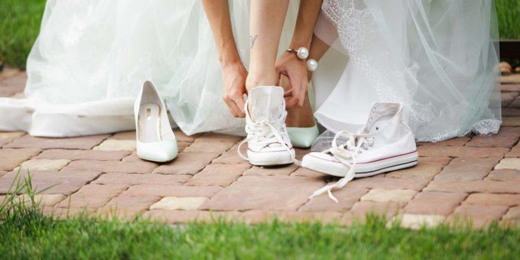 Wechselschuhe: Must-Have für Braut und Bräutigam am Tag der Hochzeit?