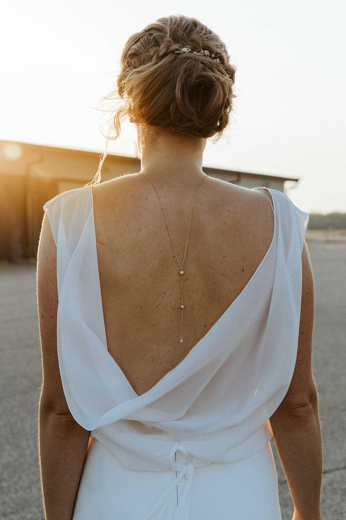 Rückenkette für die Braut