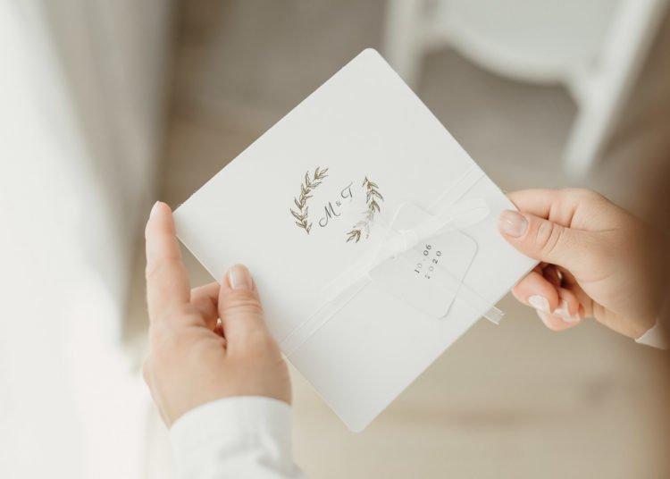 Pocketfold Einladung zur Hochzeit von Carteland
