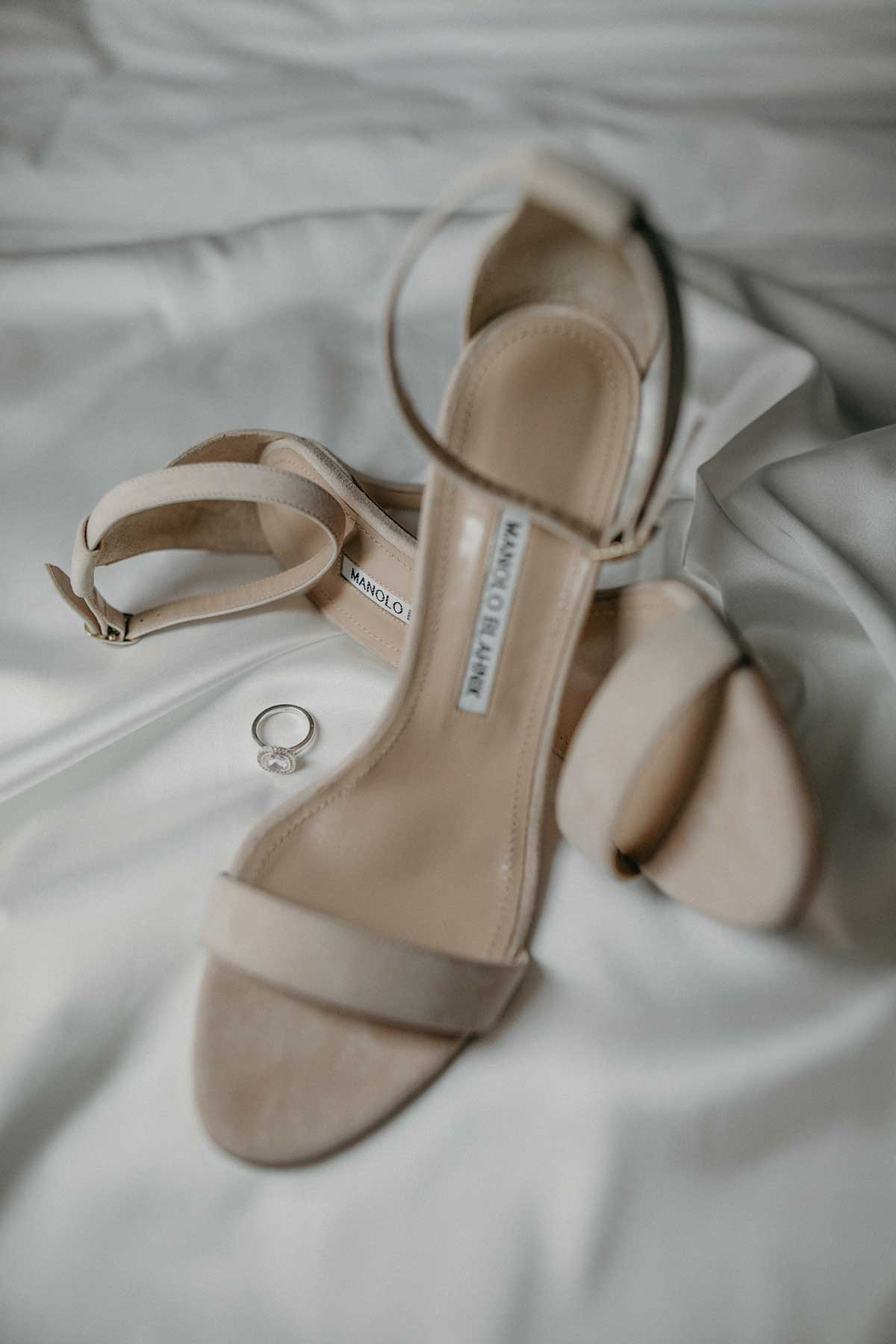 Schuhe für die Braut von Manolo Blahnik