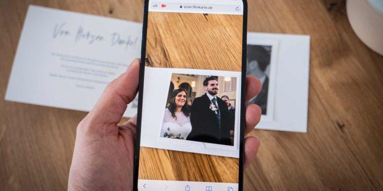 Filmkarte: Eure Augmented Reality (AR) Einladungskarte