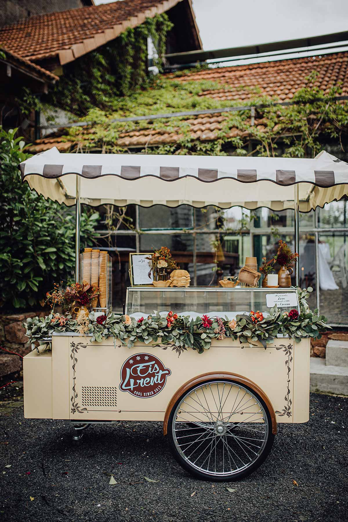 Eiswagen für die Hochzeit als Highlight