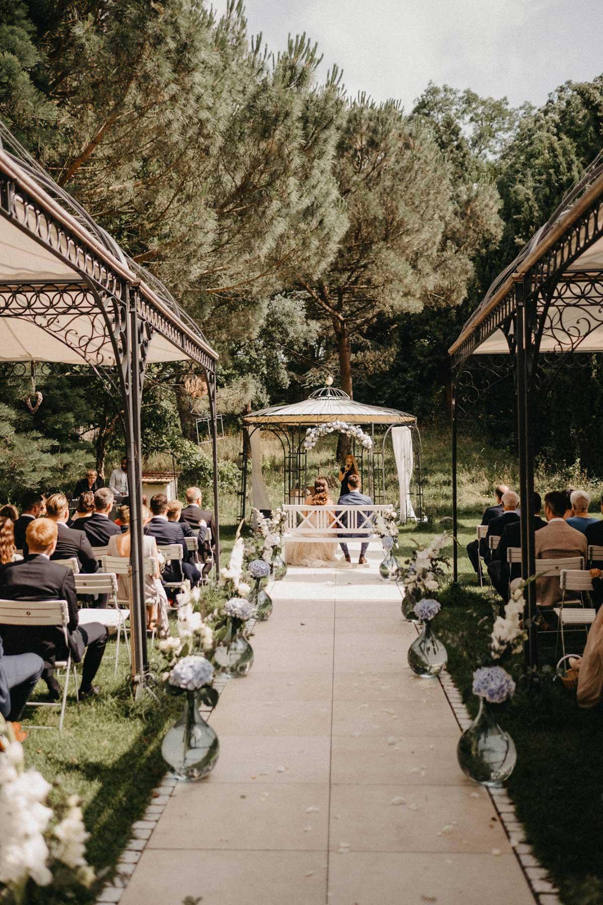 Freie Trauung in der Hochzeitslocation Morrhof